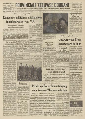 Provinciale Zeeuwse Courant 1960-11-23