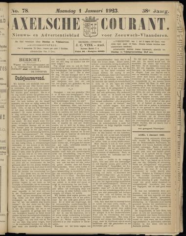 Axelsche Courant 1923