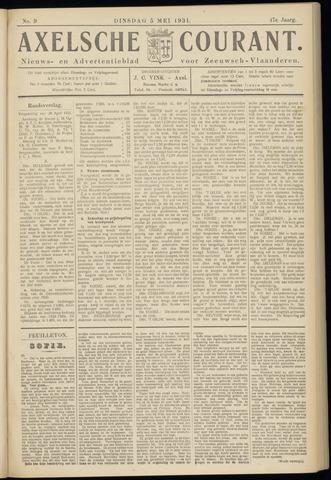 Axelsche Courant 1931-05-05