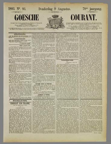 Goessche Courant 1883-08-09