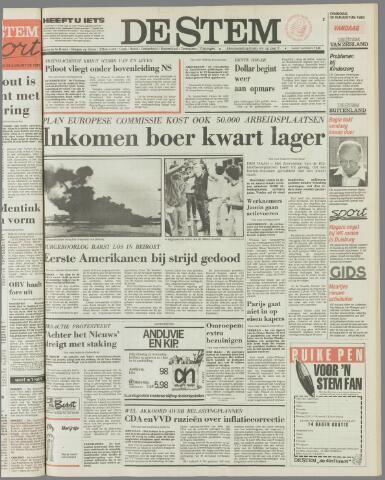 de Stem 1983-08-30