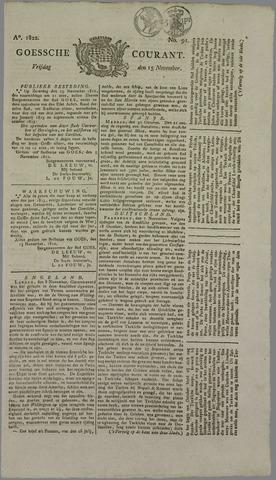 Goessche Courant 1822-11-15