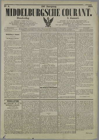 Middelburgsche Courant 1893-01-05