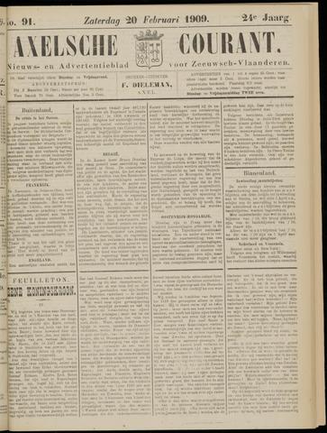Axelsche Courant 1909-02-20