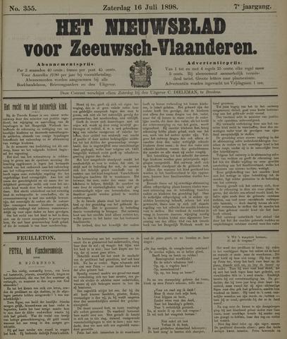 Nieuwsblad voor Zeeuwsch-Vlaanderen 1898-07-16