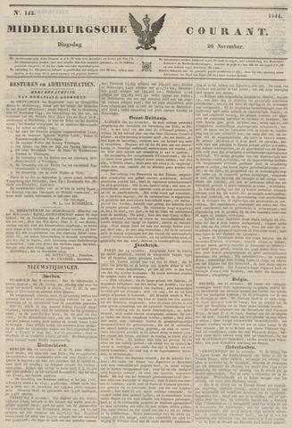 Middelburgsche Courant 1844-11-26