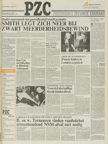 Provinciale Zeeuwse Courant 1976-09-25