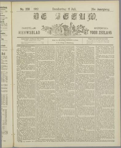 De Zeeuw. Christelijk-historisch nieuwsblad voor Zeeland 1912-07-11