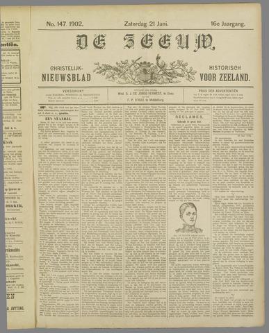 De Zeeuw. Christelijk-historisch nieuwsblad voor Zeeland 1902-06-21