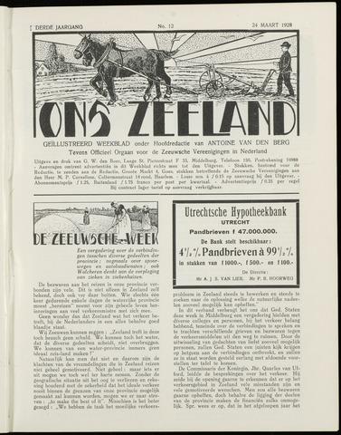 Ons Zeeland / Zeeuwsche editie 1928-03-24