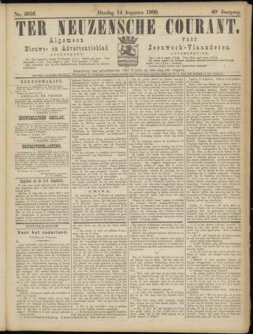Ter Neuzensche Courant. Algemeen Nieuws- en Advertentieblad voor Zeeuwsch-Vlaanderen / Neuzensche Courant ... (idem) / (Algemeen) nieuws en advertentieblad voor Zeeuwsch-Vlaanderen 1900-08-14