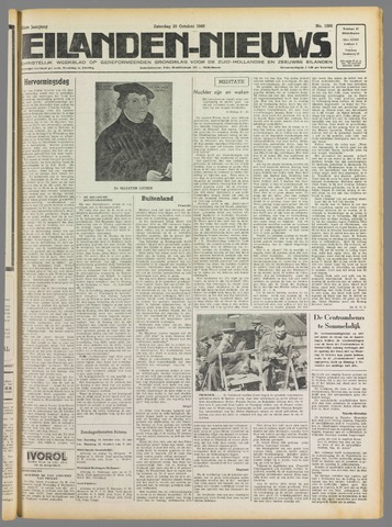 Eilanden-nieuws. Christelijk streekblad op gereformeerde grondslag 1949-10-29