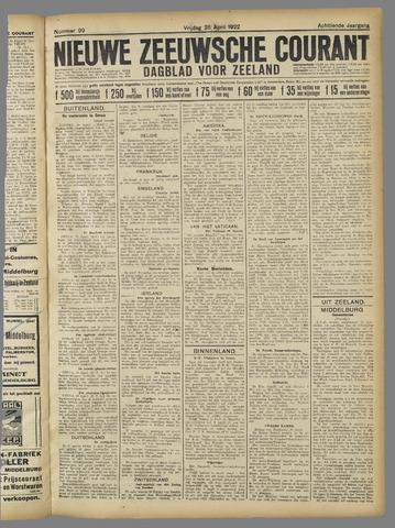 Nieuwe Zeeuwsche Courant 1922-04-28