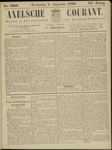 Axelsche Courant 1896-08-05