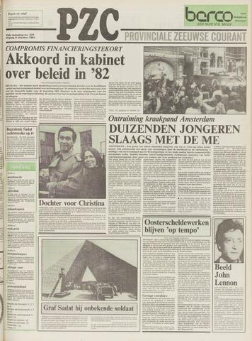 Provinciale Zeeuwse Courant 1981-10-09