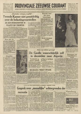 Provinciale Zeeuwse Courant 1960-11-11