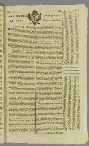 Middelburgsche Courant 1807-09-29