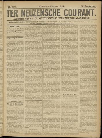 Ter Neuzensche Courant. Algemeen Nieuws- en Advertentieblad voor Zeeuwsch-Vlaanderen / Neuzensche Courant ... (idem) / (Algemeen) nieuws en advertentieblad voor Zeeuwsch-Vlaanderen 1926-02-08