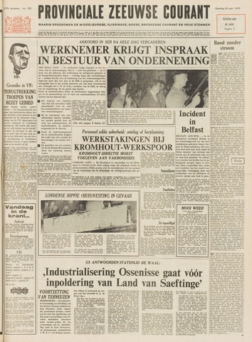 Provinciale Zeeuwse Courant 1969-09-20