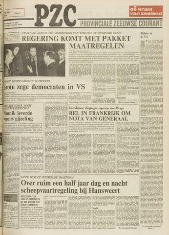 Provinciale Zeeuwse Courant 1974-11-07
