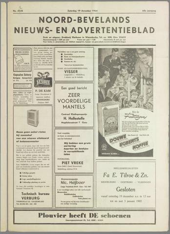 Noord-Bevelands Nieuws- en advertentieblad 1964-12-19