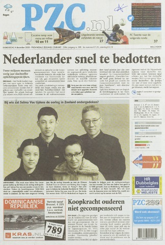 Provinciale Zeeuwse Courant 2008-12-04