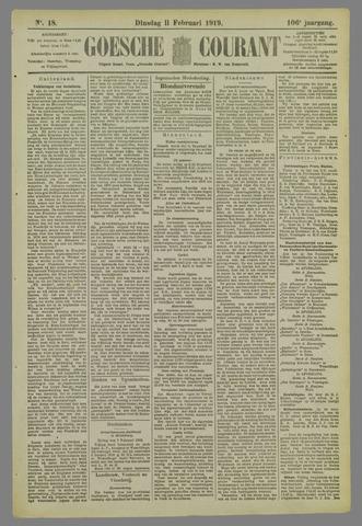 Goessche Courant 1919-02-11