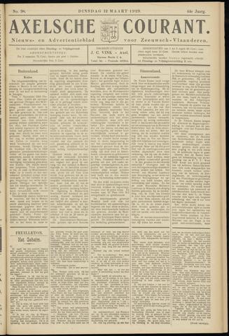 Axelsche Courant 1929-03-12