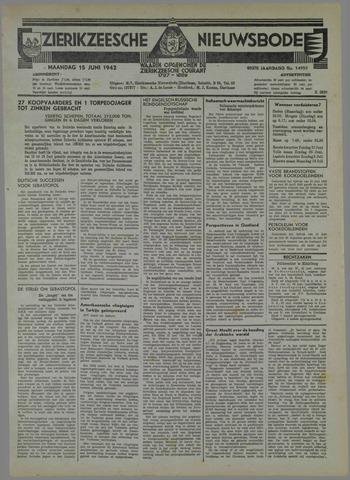Zierikzeesche Nieuwsbode 1942-06-15