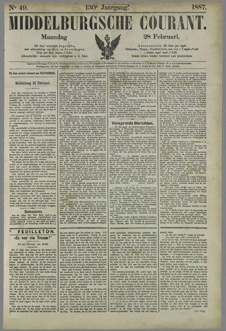 Middelburgsche Courant 1887-02-28