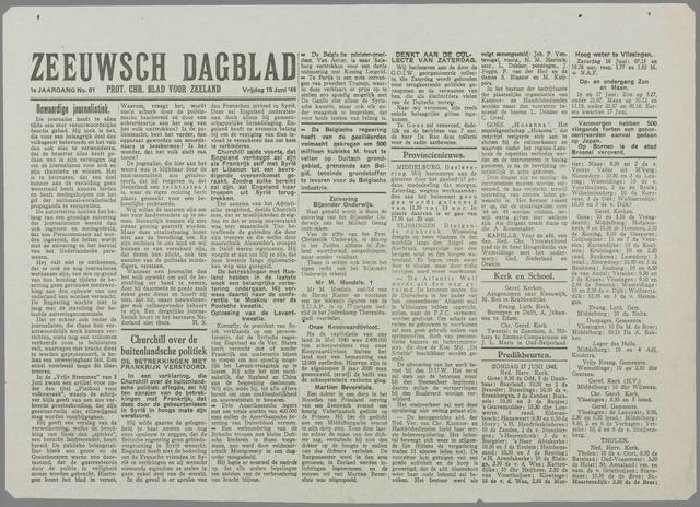 Zeeuwsch Dagblad 1945-06-15