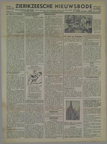 Zierikzeesche Nieuwsbode 1944-01-11