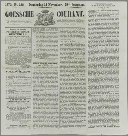 Goessche Courant 1872-11-14