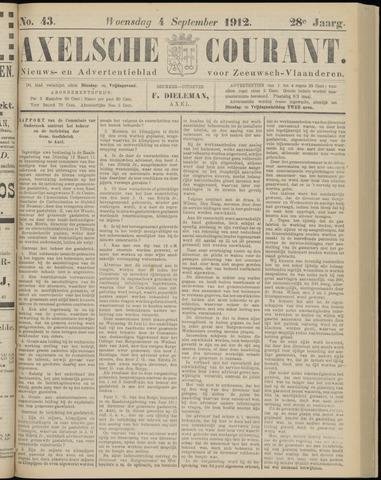 Axelsche Courant 1912-09-04