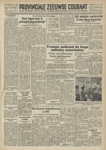 Provinciale Zeeuwse Courant 1948-07-20