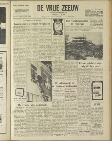 de Vrije Zeeuw 1960-11-23