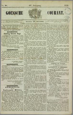 Goessche Courant 1856-12-22