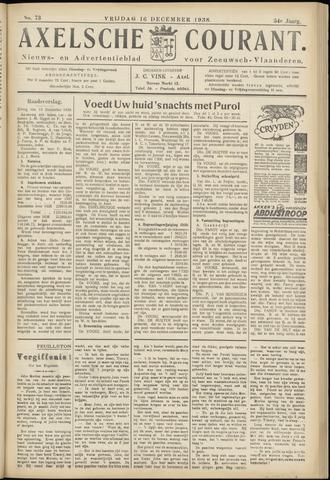Axelsche Courant 1938-12-16