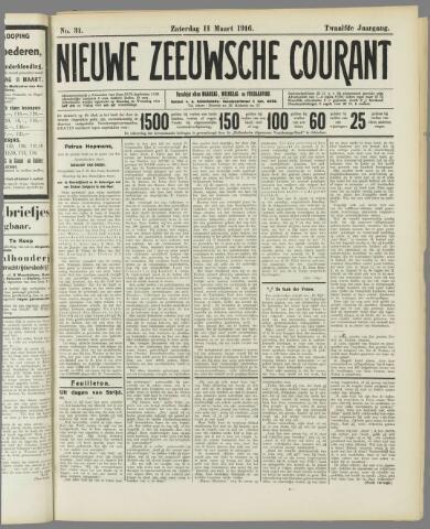 Nieuwe Zeeuwsche Courant 1916-03-11