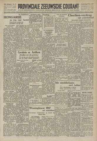 Provinciale Zeeuwse Courant 1947-02-06