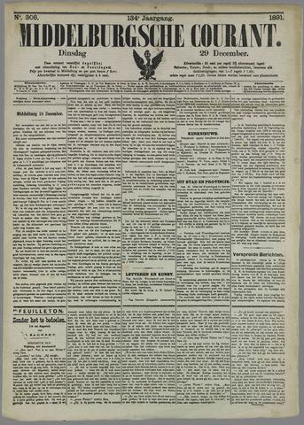 Middelburgsche Courant 1891-12-29