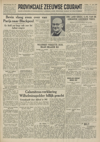 Provinciale Zeeuwse Courant 1949-06-10