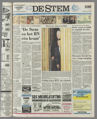 de Stem 1996-08-10