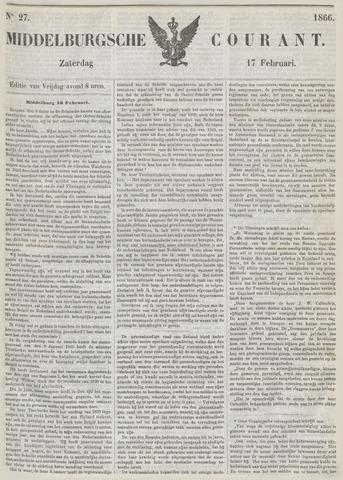 Middelburgsche Courant 1866-02-17