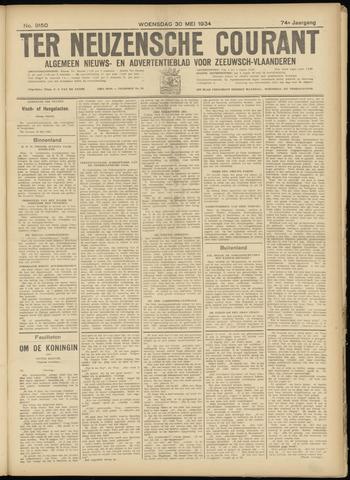 Ter Neuzensche Courant. Algemeen Nieuws- en Advertentieblad voor Zeeuwsch-Vlaanderen / Neuzensche Courant ... (idem) / (Algemeen) nieuws en advertentieblad voor Zeeuwsch-Vlaanderen 1934-05-30