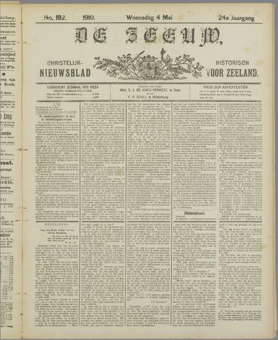 De Zeeuw. Christelijk-historisch nieuwsblad voor Zeeland 1910-05-04