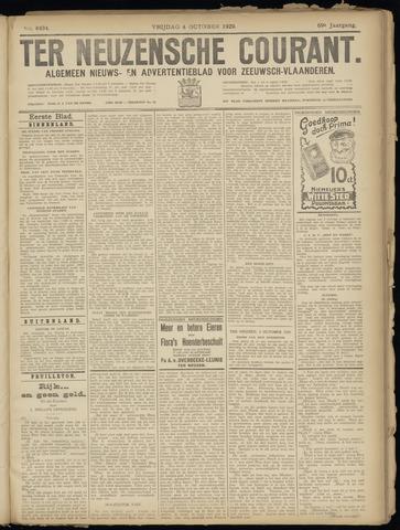 Ter Neuzensche Courant. Algemeen Nieuws- en Advertentieblad voor Zeeuwsch-Vlaanderen / Neuzensche Courant ... (idem) / (Algemeen) nieuws en advertentieblad voor Zeeuwsch-Vlaanderen 1929-10-04