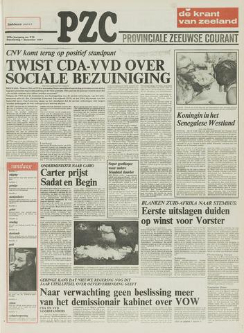 Provinciale Zeeuwse Courant 1977-12-01