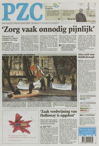 Provinciale Zeeuwse Courant 2008-02-01