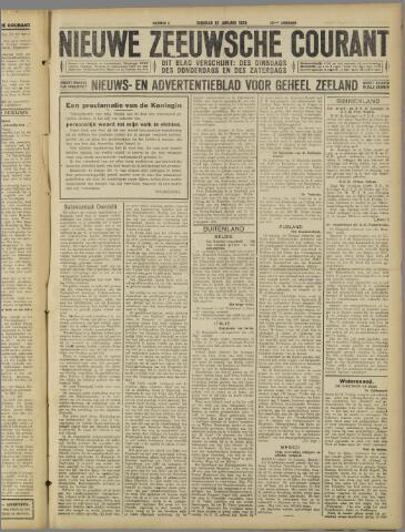 Nieuwe Zeeuwsche Courant 1926-01-12
